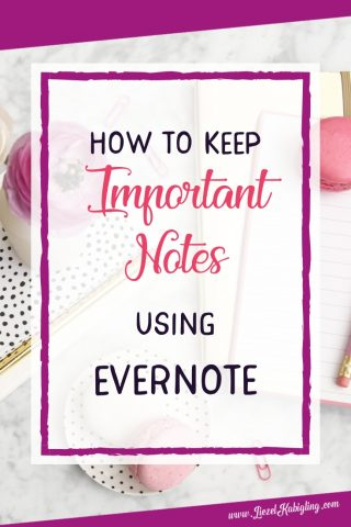 How to Keep Important Notes Synchronized Between Phone, Tablet and Multiple Computers Using Evernote