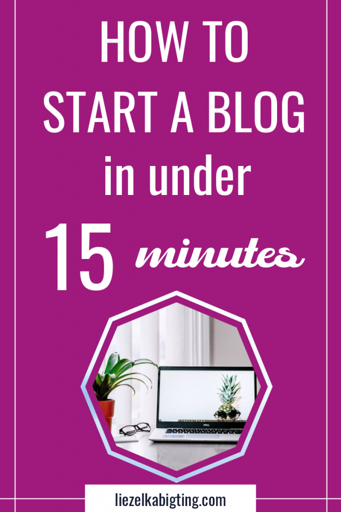 Learn how to start a blog in under 15 minutes and start making money blogging