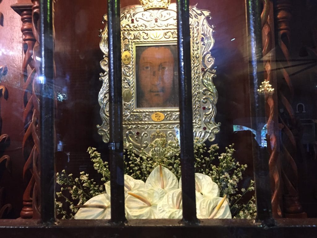 immaculate conception nampicuan - most holy face of jesus shrine