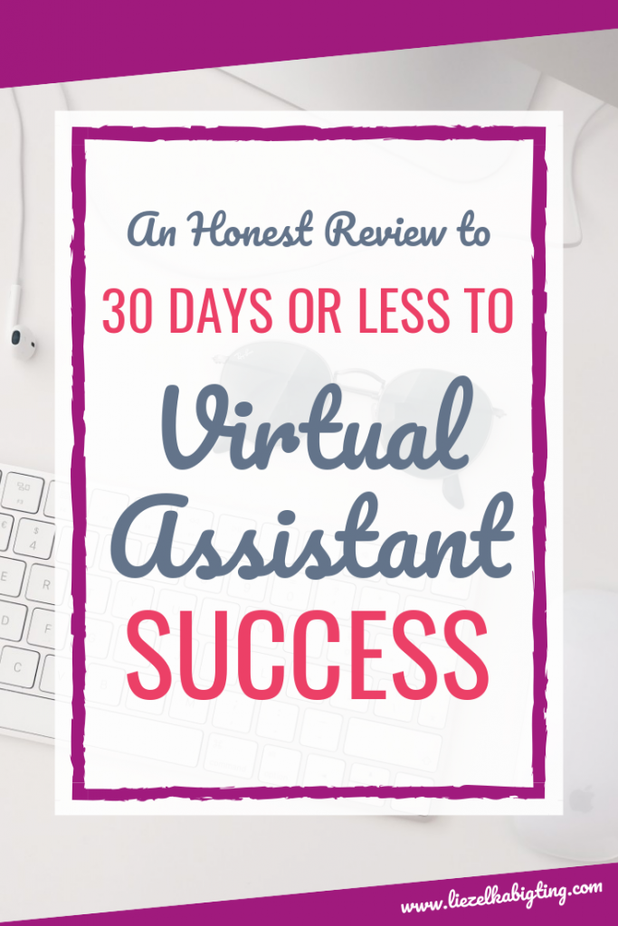 Do you plan to work from home as a virtual assistant? Here's my honest review of Gina Horkey's 30 days or less to virtual assistant success course. Find out if it's right for you and get my 4 exclusive bonuses.